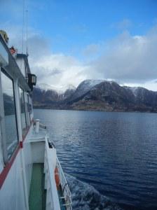 Det er helt greit å forlate havgapet. HARDANGER here we come!