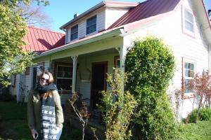 Huset i Carlton der Vesle bor.