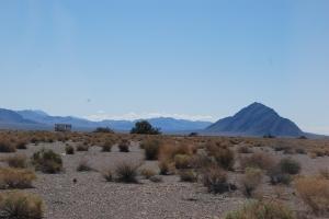 Nevada, enda mer ørken og ødeland.