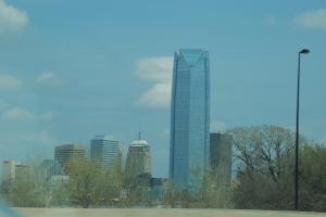 Så nær kom jeg Oklahoma City.
