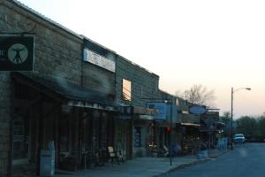Mountain View, småbyen som er kjent for folkemusikk, felebygging og bønnefestival.