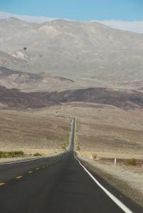 Og i Death Valley kom hodepinen ... AU!