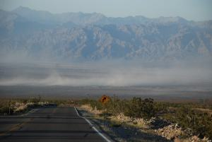 Sandstorm, visstnok ikke noe ukjent fenomen i DV.