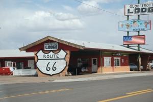 Vi støter iblant på Route 66.