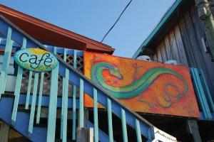 Cedar Key, fargerikt over hele linja.
