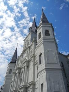 En eller annen kirke, jeg ble litt ufokusert i varmen og fikk ikke notert navnet.
